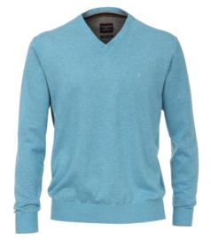 Casa Moda Pullover v-hals licht blauw