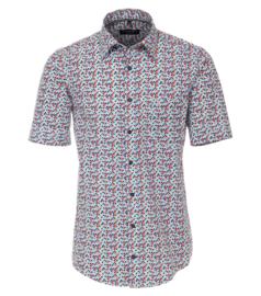 Casa Moda Overhemd korte mouw multi print