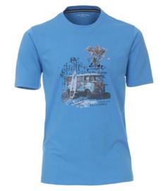 Casa Moda T-shirt blauw print