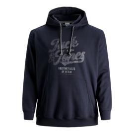 Jack & Jones Hoodie Navy Blazer