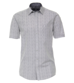Casa Moda Overhemd korte mouw blauw gestreept
