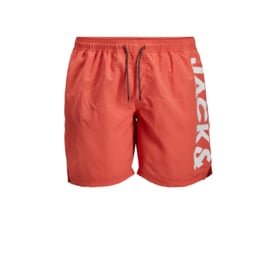Jack & Jones Zwemshort Hot Coral