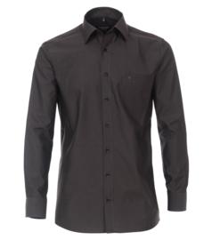 Casa Moda Overhemd Antraciet strijkvrij