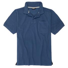 Adamo Poloshirt Klaas blauw