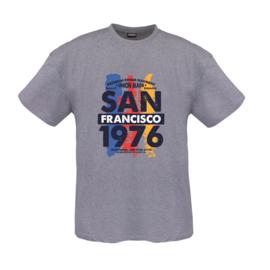 Adamo T-shirt San Francisco grijs