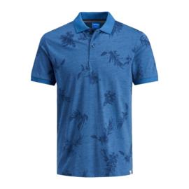 Jack & Jones Poloshirt Florall Ensign Blue