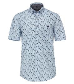 Casa Moda Overhemd korte mouw palm print