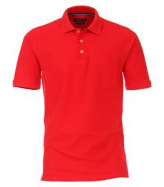 Casa Moda Poloshirt rood