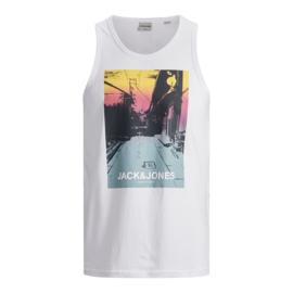 Jack & Jones Hemdshirt White print
