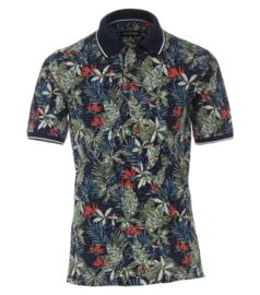 Casa Moda Poloshirt flower print