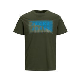 Jack & Jones T-shirt Forest Night