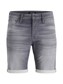 Jack & Jones  Jog Denim Jeans Short grijs