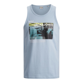 Jack & Jones Hemdshirt Dusty Blue print