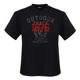 Adamo T-shirt Outdoor zwart