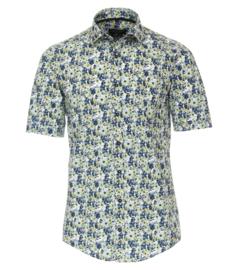 Casa Moda Overhemd korte mouw flower print