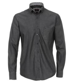 Casa Moda Overhemd jeans zwart