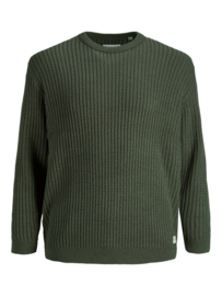 Jack & Jones Structuur Pullover Forest Night