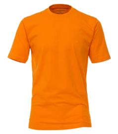 Oranje t-shirt in grote maat Casa Moda