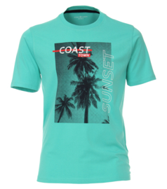 Casa Moda t-shirt groen print