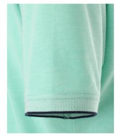 Casa Moda poloshirt korte mouw turquoise