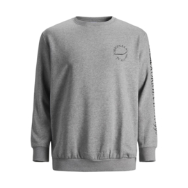 Jack & Jones Sweater grijs print