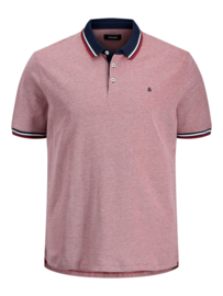 Jack & Jones poloshirt Rio red