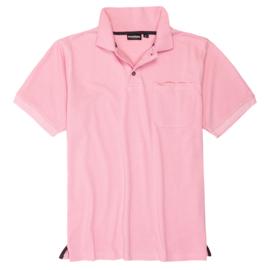 Adamo Poloshirt Klaas rose