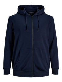Jack & Jones Hoodie Zipper Navy
