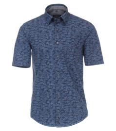 Casa Moda Overhemd print blauw