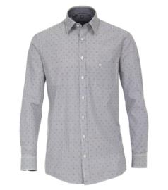 Casa Moda Overhemd gestreept met print