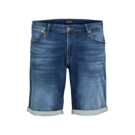 Jack & Jones Jog Denim Jeans Short blauw