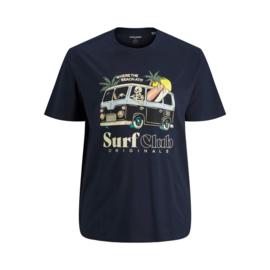 Jack & Jones T-shirt Skull Navy Blazer