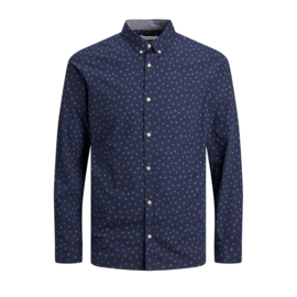 Jack & Jones Overhemd Navy Blazer