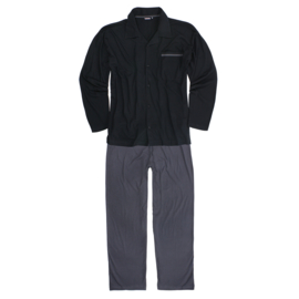 Adamo pyjama Benno zwart