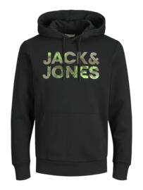 Jack & Jones Logo Sweat hoodie zwart