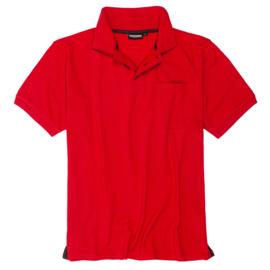 Adamo Poloshirt Klaas rood