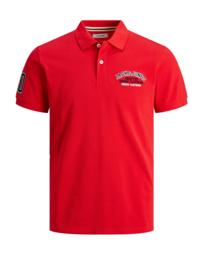 Jack & Jones Poloshirt True Red