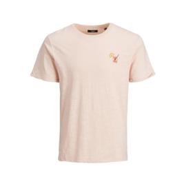 Jack & Jones T-shirt Peach Whip