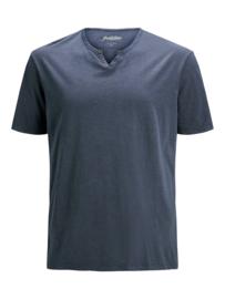 Jack & Jones T-shirt Navy Blazer v-hals
