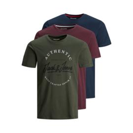 Jack & Jones T-shirt Herro 3-pack