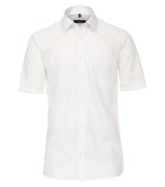 Casa Moda Overhemd korte mouw wit strijkvrij