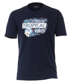 Casa Moda t-shirt navy print