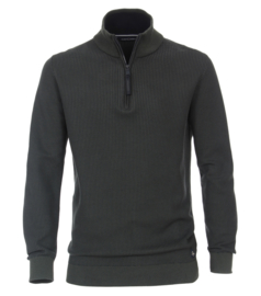 Casa Moda Sweatshirt Troyer groen