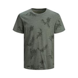 Jack & Jones T-shirt Florall Sedona Sage