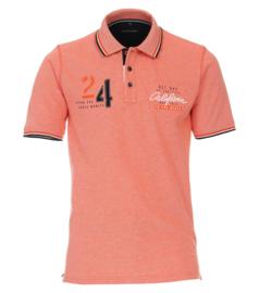Casa Moda Poloshirt oranje print