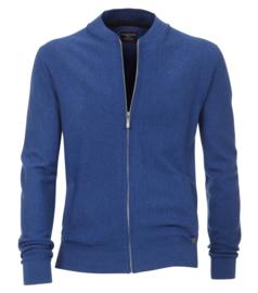 Casa Moda Vest zipper blauw