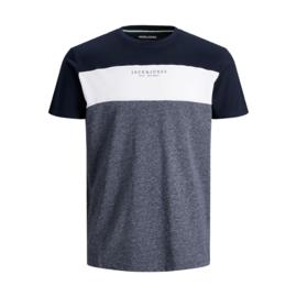 Jack & Jones T-shirt Monse Tee Navy