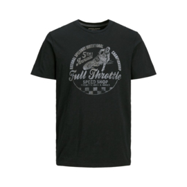 Jack & Jones T-shirt Motor tee black