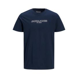 Jack & Jones T-shirt Bank Tee Navy