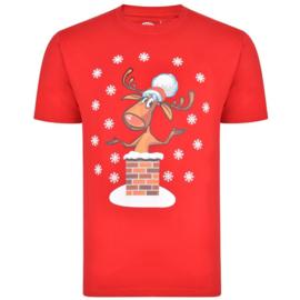 Kerst T-shirt rood